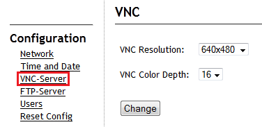 vnc change resolution